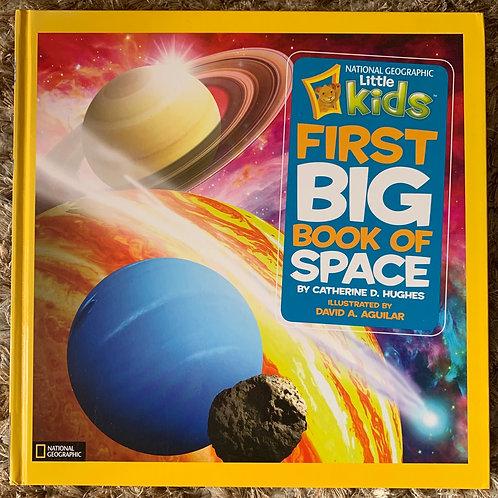 NatGeo Kids First Big Book Of Space
