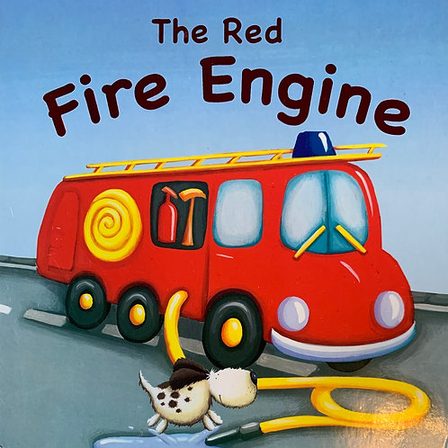 The Red Fire Engine Boardbook