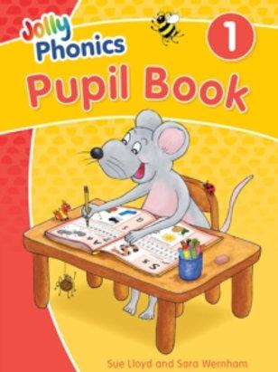 Jolly Phonics Pupil Book 1 : in Precursive Letters (British English edition)