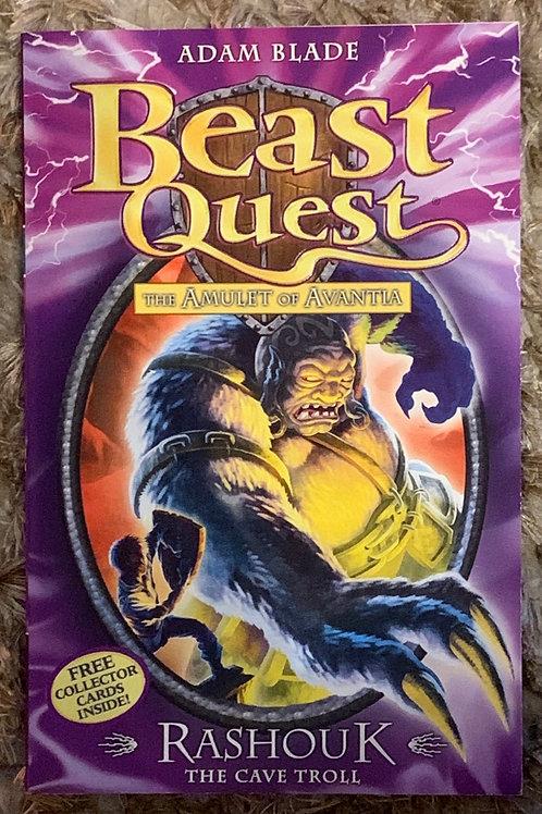 Rashouk the Cave Troll - Beast Quest The Amulet of Avantia