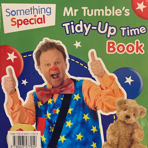 Mr Tumble's Tidy-Up Book