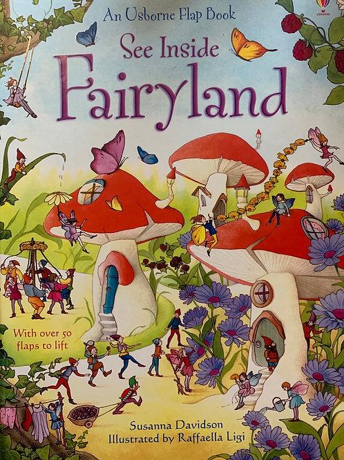 Usborne Flap Book See Inside Fairyland