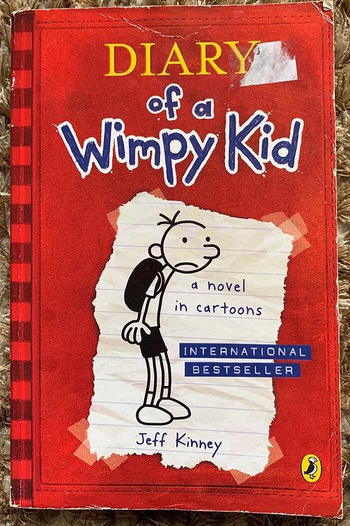 Diary of a Wimpy Kid -Jeff Kinney
