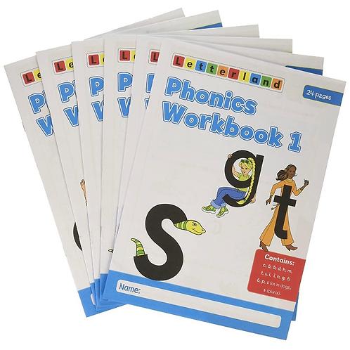 Phonics Workbooks 1-6