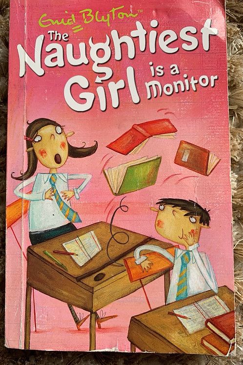Enid Blyton The Naughtiest Girl is a Monitor