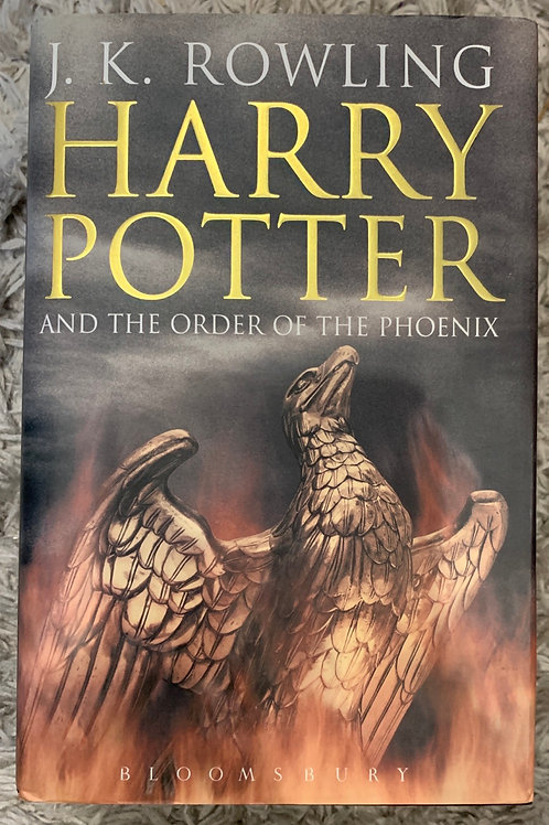 Harry Potter and the Order of the Phoenix ( J.K.Rowling) Hardback
