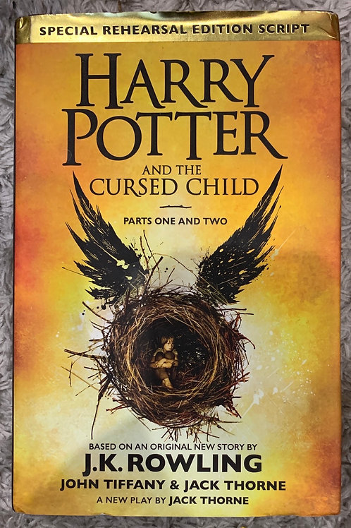 Harry Potter and The Cursed Child ( J.K.Rowling)
