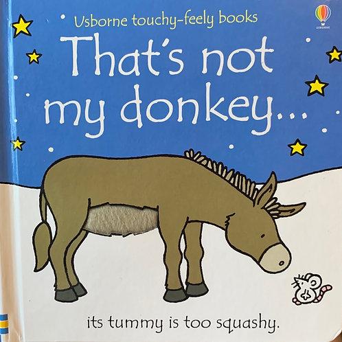 That's not my Donkey....