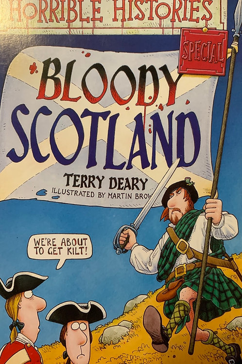 Horrible Histories Bloody Scotland