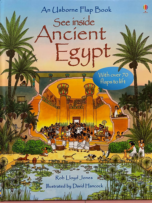 An Usborne Flap Book See Inside Ancient Egypt
