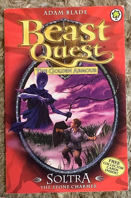 Soltra The Stone Charmer - Beast Quest The Golden Armour