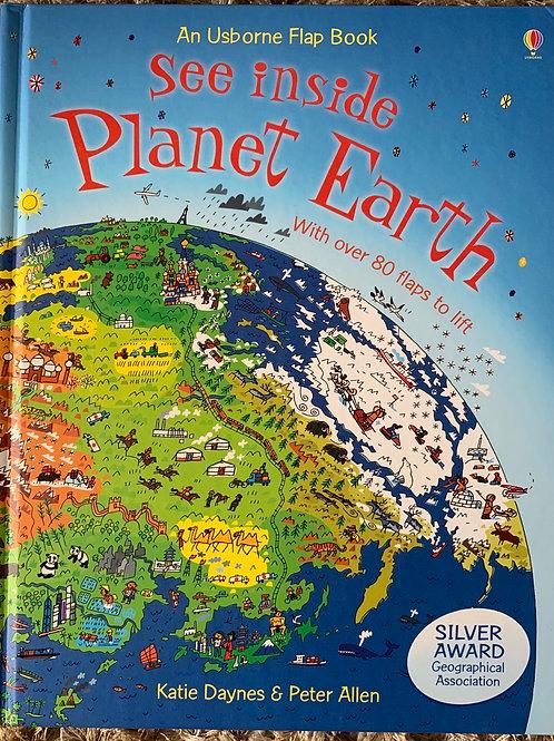 An Usborne Flap Book See Inside Planet Earth