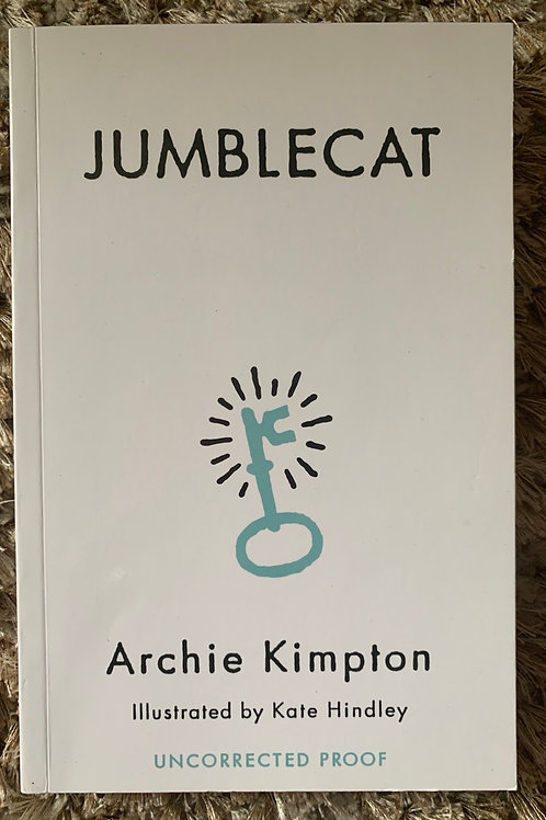 Jumblecat - uncorrected proof