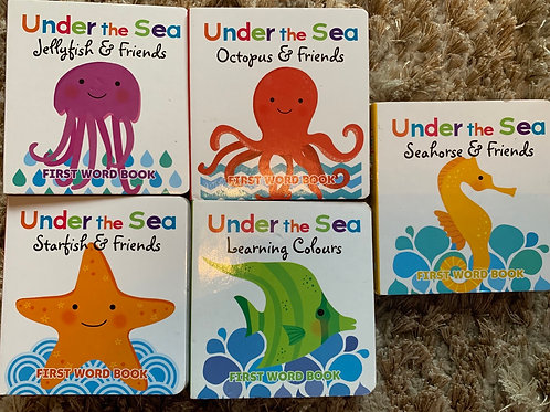 Under the Sea - First word Books Set of 5
