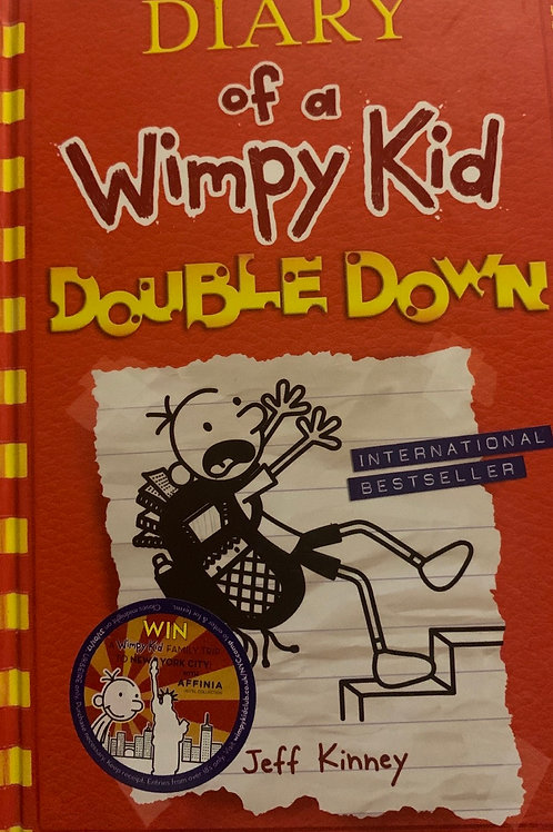 Diary of a Wimpy Kid Double Down Hardback - Jeff Kinney