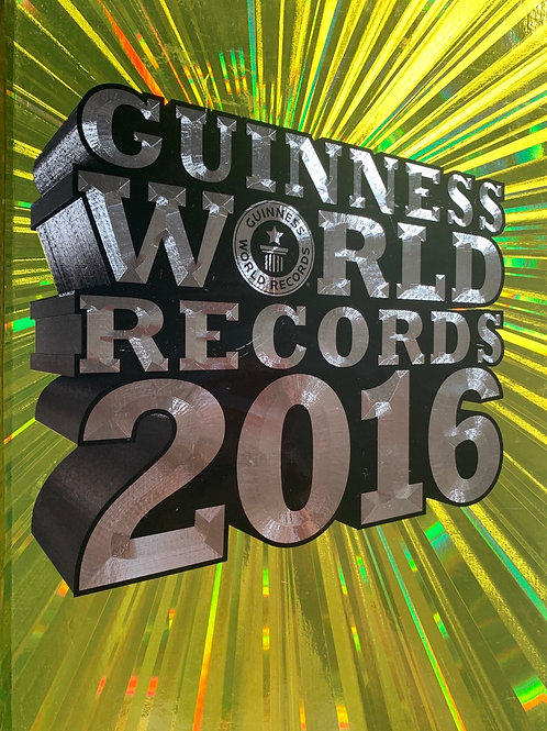 Guineness World Records 2016