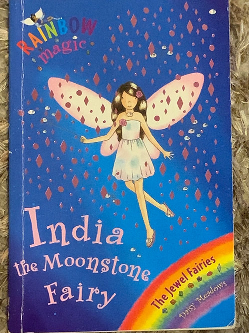 Rainbow Magic India the Moonstone Fairy