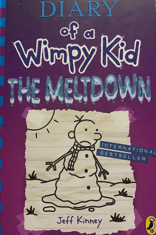 Diary of a Wimpy Kid The Meltdown Hardback - Jeff Kinney
