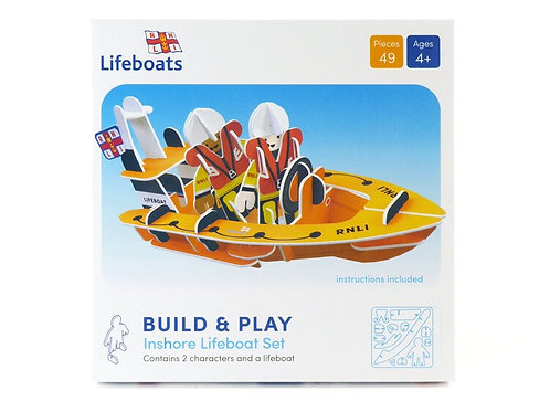 RNLI Lifeboat Eco Friendly Playset