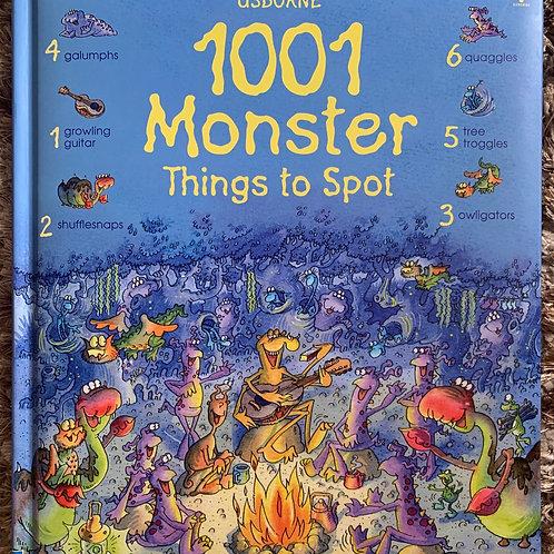 Usborne 1001 Monster Things to Spot