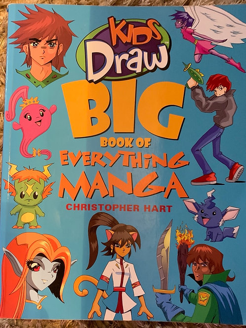 Kids Draw Big Book of Everthing Manga