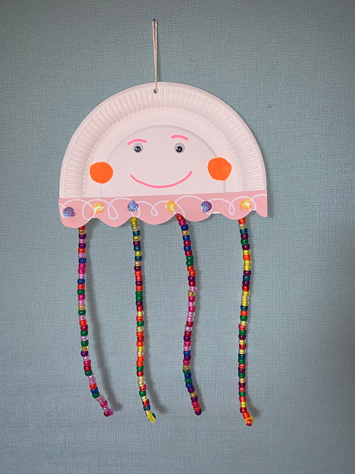 Jellyfish Craft Bag