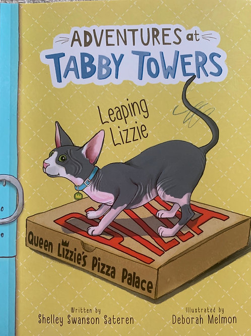 Adventures at Tabby Towers Leaping Lizzie