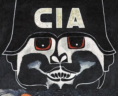 Ilustración: Guayasamín, O. 1988. La intervención extranjera [Arte mural]. Lugar: Salón del plenario del Palacio Legislativo, Quito, Ecuador.