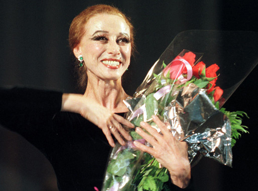 Maya Mijáilovna Plisétskaya (1925-2015)