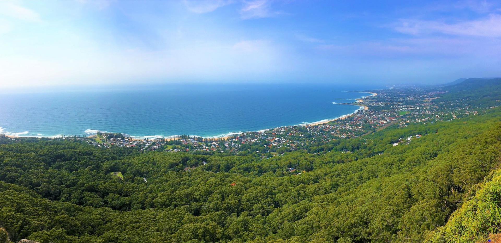 Wollongong Coast Panorama