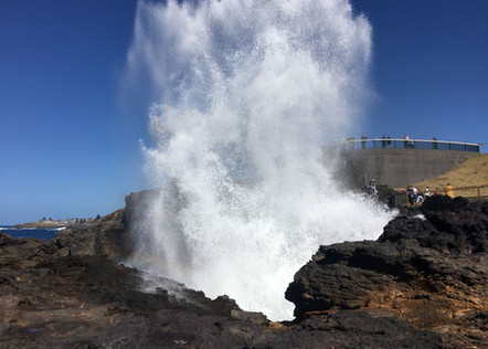 Big Blowhole in Kiama