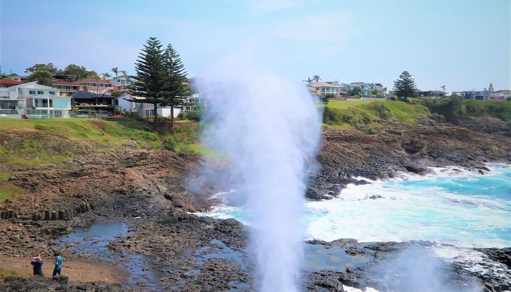 Little Blowhole in Kiama