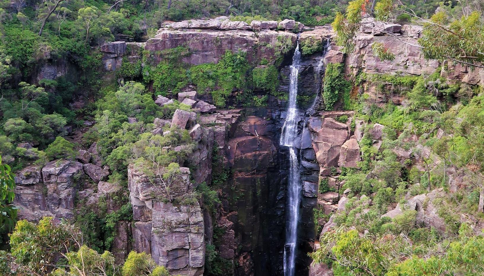Carrington Falls in National Park Sydney