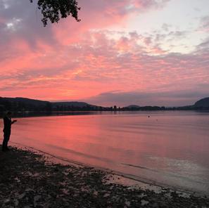 5 Minuten Gehdistanz um See/Badi