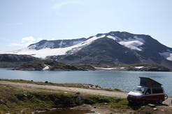 Norwegen mit dem VW Bus