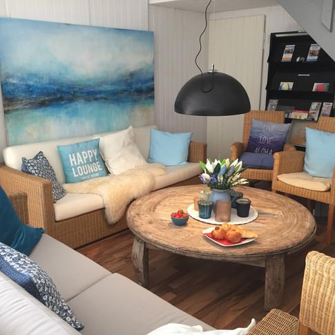 gemütliche Lounge im Atelier