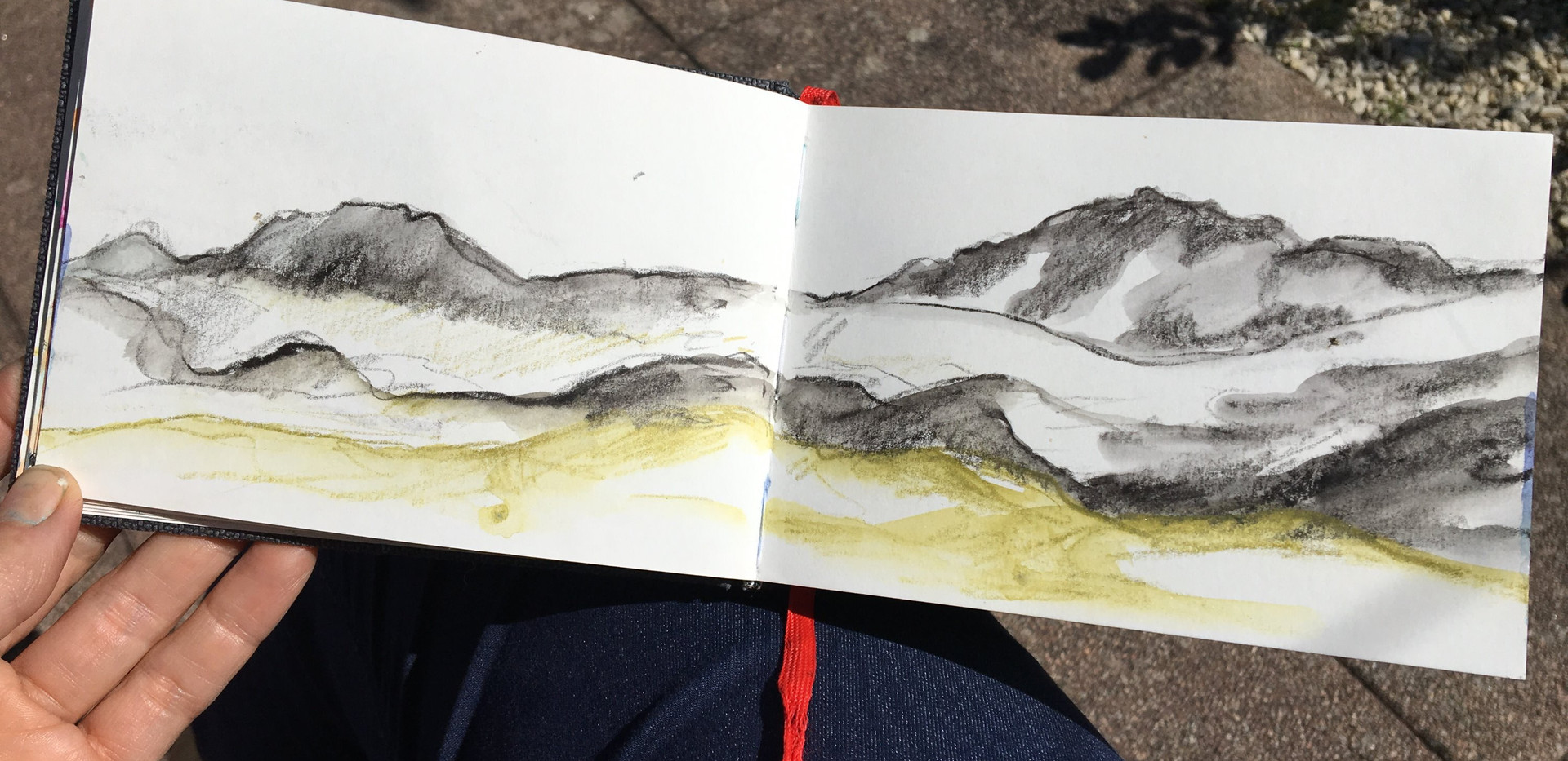 Sketches in Norway