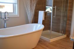 Baño suite.