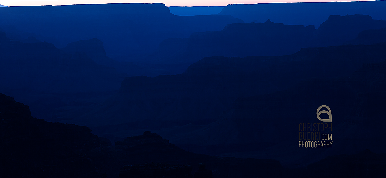 blue grand canyon