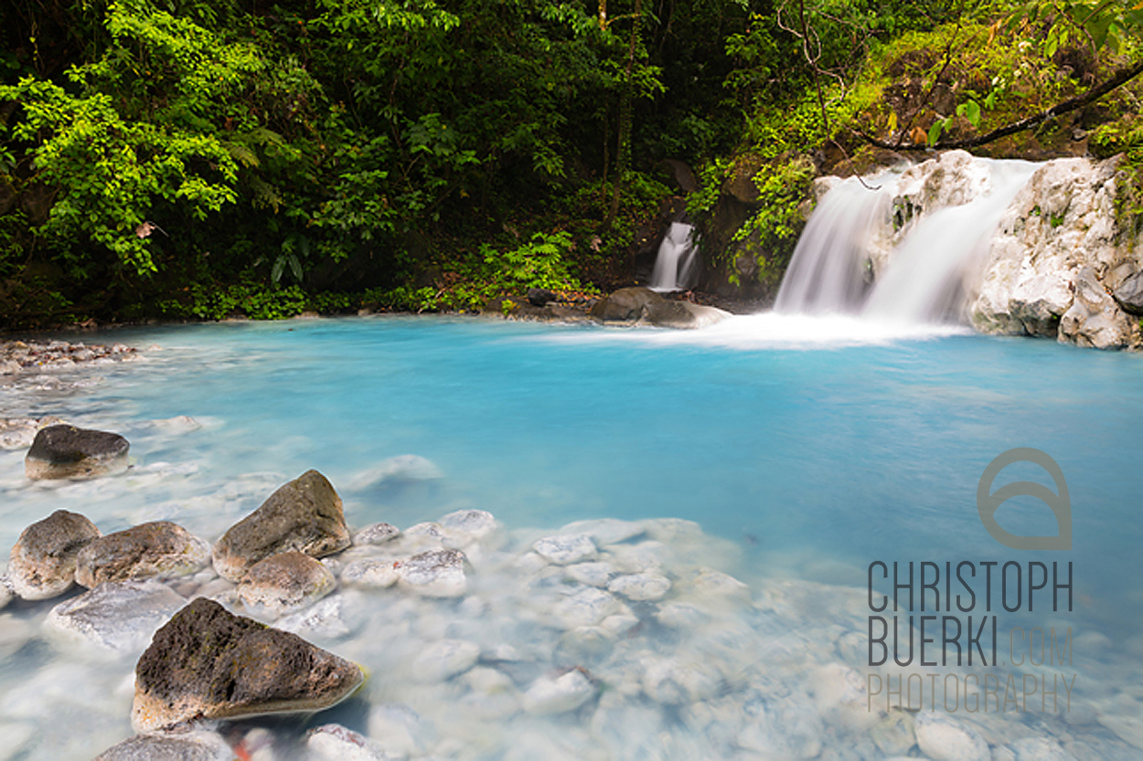 blue river costa rica