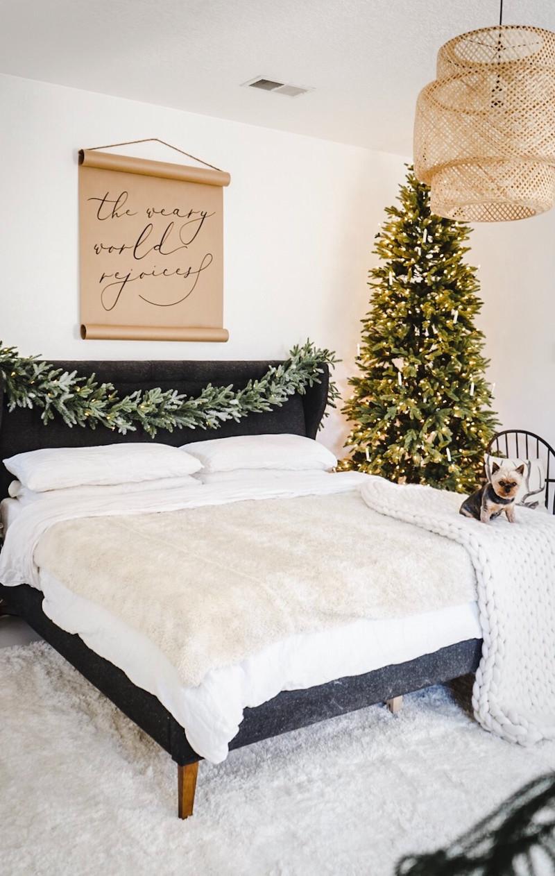 sleeping in a winter wonderland...