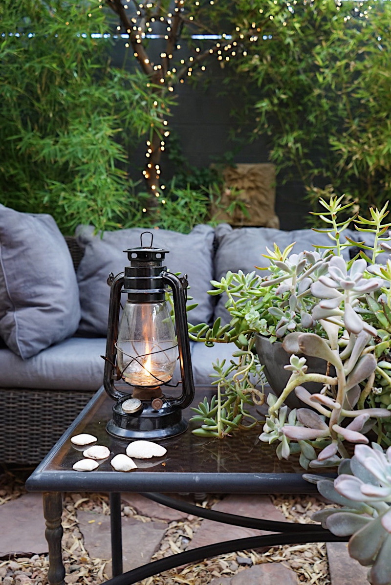 a mini refresh for our mini backyard