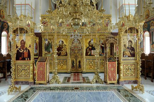 Ι.Κ. Αγίου Νικολάου Μπουραζέρη | Άγιο Όρος