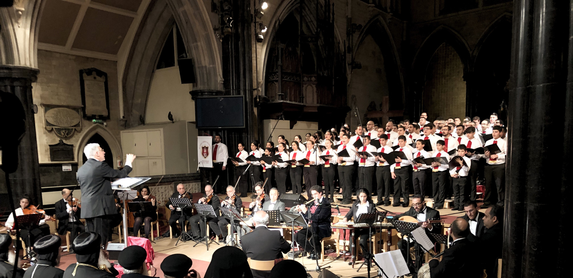 Church Choir & Orchestra Performance