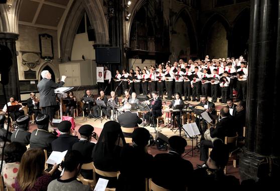 Church Choir & Orchestra Performance