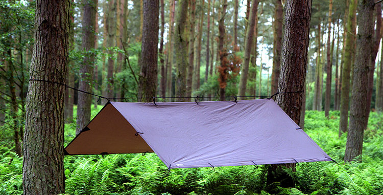 DD 3x3 Tarp Coyote Brown