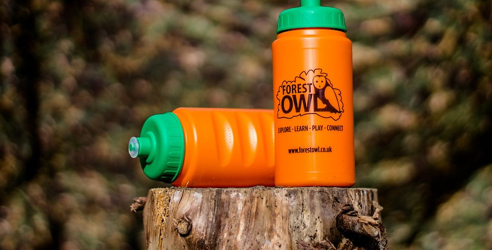 Forest Owl water bottle (Single)
