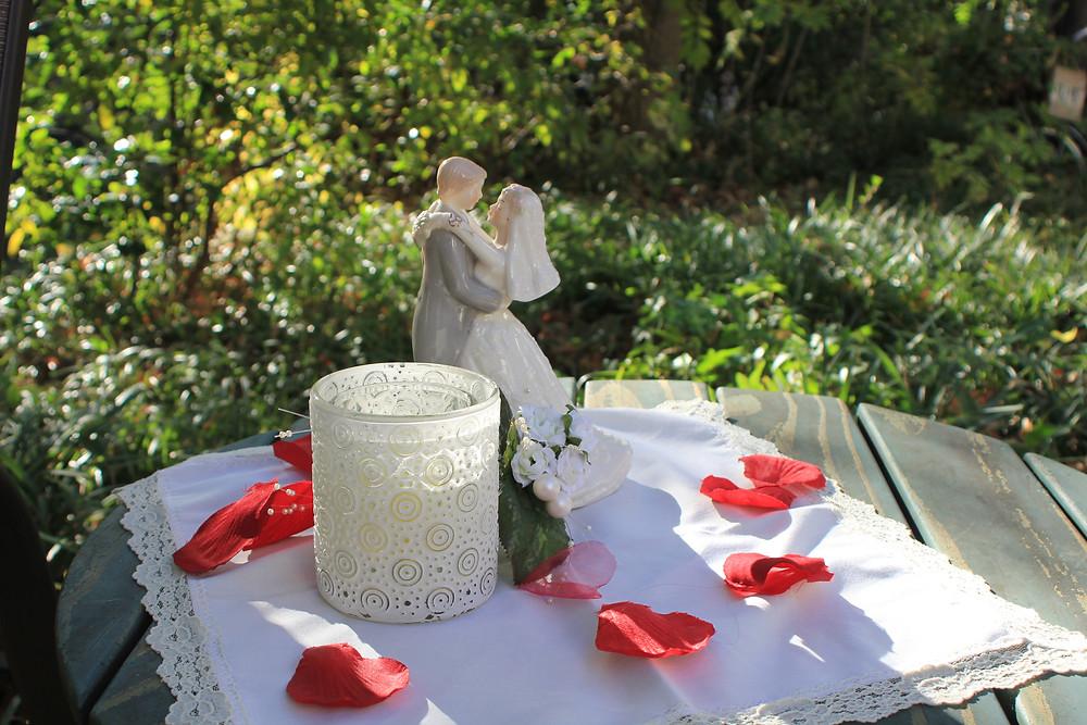 DFW small wedding venue-outdoor gardens