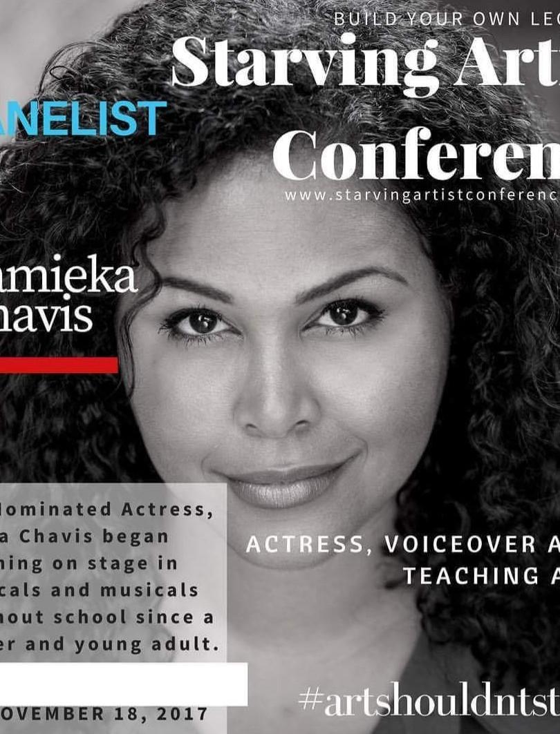 Tamieka Chavis, guest artist