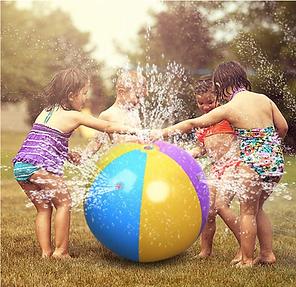 Beach Ball Sprinkler